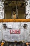 Verlassene Lokomotive Lizenzfreies Stockfoto