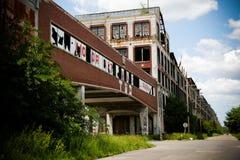 Verlassene Packard Fabrik 5 Stockfotografie