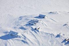 Verlassene polare Station Stockbilder