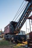 Verlassene Railcars Stockbild
