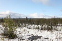 Verlassene Region Murmansk Russland Norden Russische Föderation Stockbilder