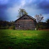 Verlassene Scheune in West Virginia stockbild