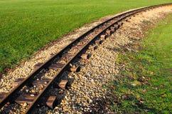 Verlassene Schienenstränge Lizenzfreies Stockfoto