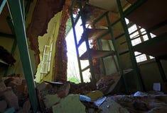 Verlassene Schule Stockbilder