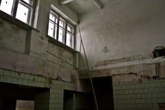 Verlassene sowjetische Kantine Lizenzfreie Stockbilder
