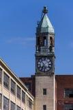 Verlassene Spitze-Fabrik und Turm - Scranton, Pennsylvania Lizenzfreies Stockfoto