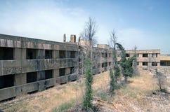 Verlassene Stadt von Quneitra Stockfotografie