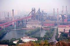 Verlassene Stahlarbeiten Lizenzfreie Stockfotografie