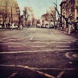 Verlassene Straße Lizenzfreies Stockbild