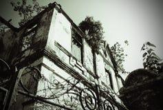 Verlassene Villa Lizenzfreie Stockbilder