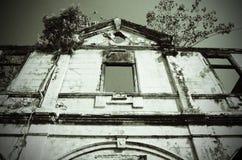 Verlassene Villa in Penang Lizenzfreie Stockfotos