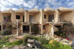 Verlassene Wohnungen Stockbild