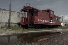 Verlassene zentrale Kombüse Illinois lizenzfreie stockfotografie
