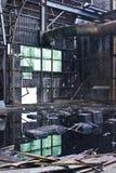 Verlassene Zuckerraffinerie Lizenzfreie Stockbilder