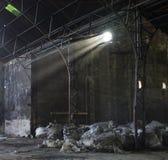 Verlassene Zuckerraffinerie Stockfoto