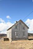 Verlassenen Lofotens Haus II Stockfotografie