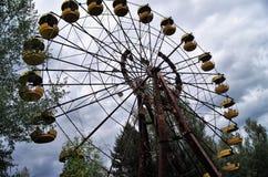 Verlassenen Riesenrad herein Pripyat, Ukraine Lizenzfreie Stockfotografie