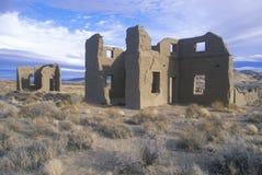 Verlassener alter Armee-Beitrag im Fort Churchill-Zustands-historischen Park, Nanovolt Stockfotos