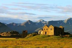 Verlassener Bauernhof Stockbild