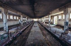 Verlassener Bauernhof in Polen stockfoto