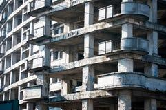 Verlassener comunist Block Stockbilder
