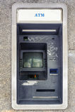Verlassener Geldautomat Lizenzfreie Stockbilder