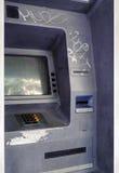 Verlassener Geldautomat Stockbilder