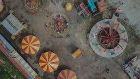 Verlassener Karneval Stockbild