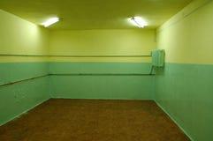 Verlassener Raum Stockfotos