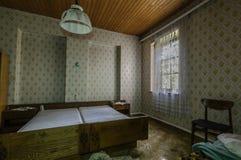 verlassener Raum eines Hotels stockfotos