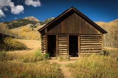 Verlassener Speicher in Ashcroft, Colorado Lizenzfreie Stockfotos