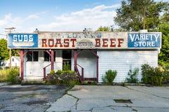 Verlassener Speicher in Northfield, Maine lizenzfreie stockfotos