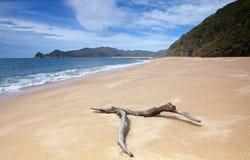Verlassener Strand lizenzfreies stockfoto