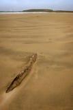 Verlassener Strand, stockbild