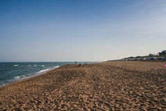 Verlassener Strand Stockbilder