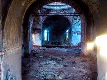 Verlassener Tempel Stockbild