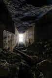 Verlassener Tunnel stockfoto