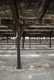 Verlassener Verschiebebahnhof Stockbild