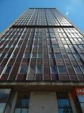 Verlassener Wolkenkratzer Stockfoto