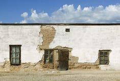Verlassenes Adobe-Gebäude Stockfoto