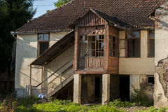 Verlassenes altes Haus Stockfoto