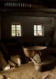 Verlassenes altes Haus Stockfotos
