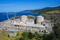 Verlassenes Atomkraftwerk Stockfoto