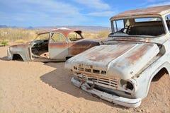 Verlassenes Auto Lizenzfreies Stockbild