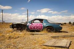 Verlassenes Auto Stockfotografie