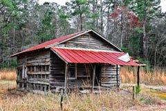 Verlassenes Bauernhaus Stockfoto
