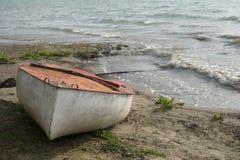 Verlassenes Boot Stockbilder