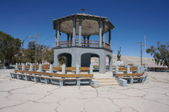 Verlassenes Dorf von Chuquicamata, Atacama, Chile Stockbild