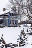 Verlassenes fähiges haus- Appalachen Gabbard - Kentucky Stockfotografie