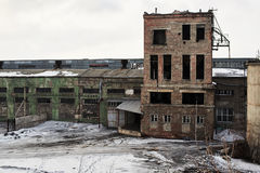 Verlassenes Fabrikgebäude Lizenzfreie Stockbilder